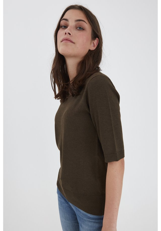 SARA - Sweter - wren melange