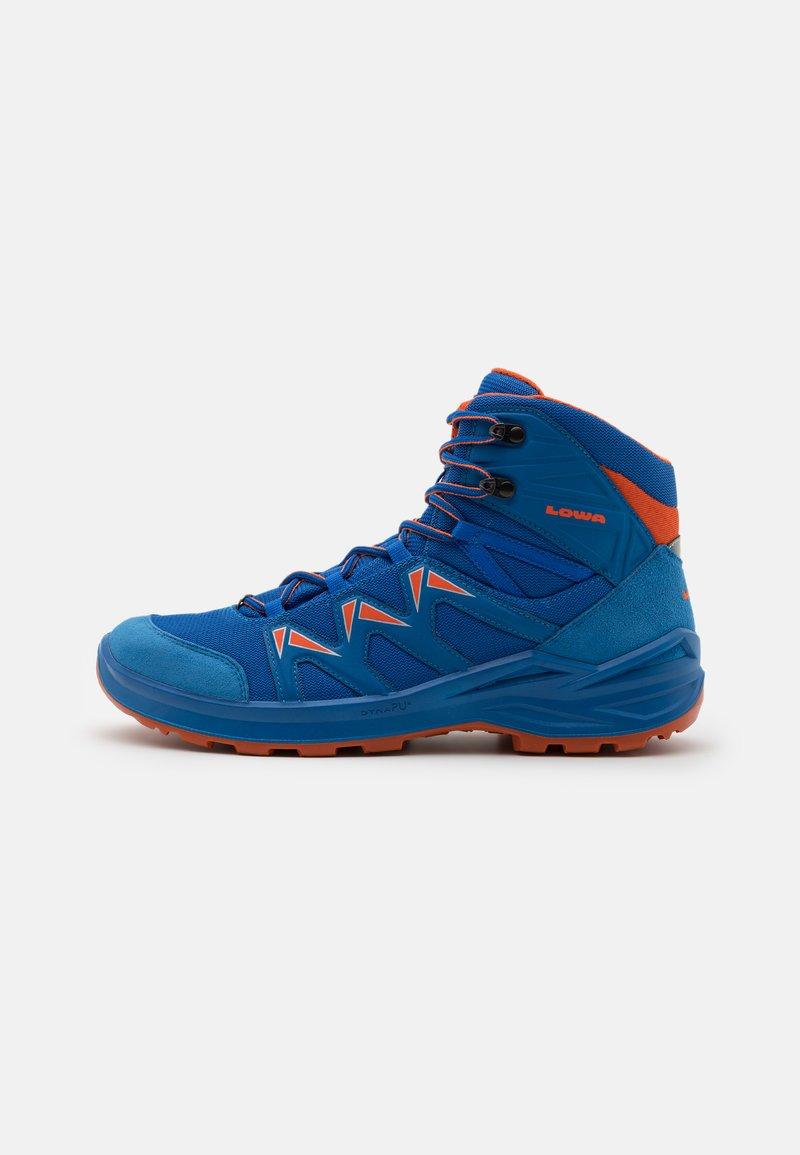 Lowa - INNOX PRO GTX MID JUNIOR UNISEX - Hiking shoes - blau/orange