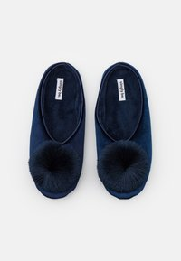 Simply Be - WIDE FIT CERES - Slippers - navy - 5
