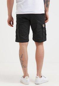 Carhartt WIP - AVIATION COLUMBIA - Shorts - black - 2