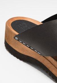 Sanita - TIDA SPORT FLEX  - Clogs - black - 2