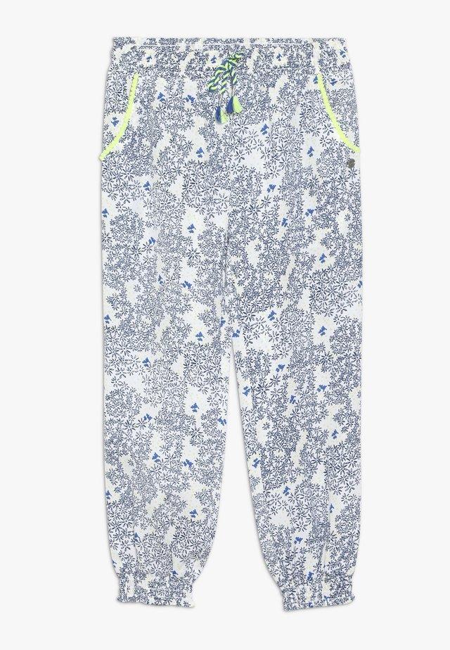 PANTALON FLUIDE - Pantalones - bleu électrique