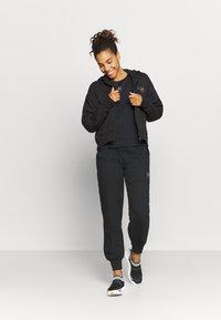 adidas by Stella McCartney - CROPPED HOODIE - Mikina na zip - black - 1