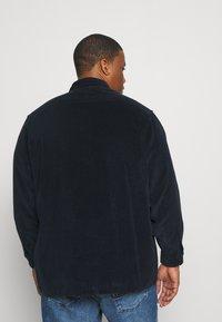 Polo Ralph Lauren Big & Tall - ZIP LONG SLEEVE - Shirt - navy/black - 2