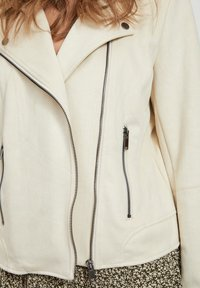 Vila - Faux leather jacket - birch - 4
