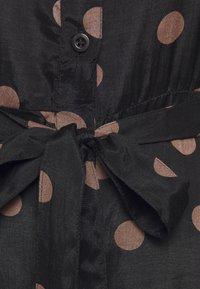 Kaffe - OLINE DRESS - Košilové šaty - black - 2