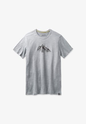 T-shirt con stampa - light gray heather