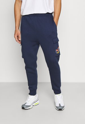 CARGO PANT - Pantalones deportivos - midnight navy