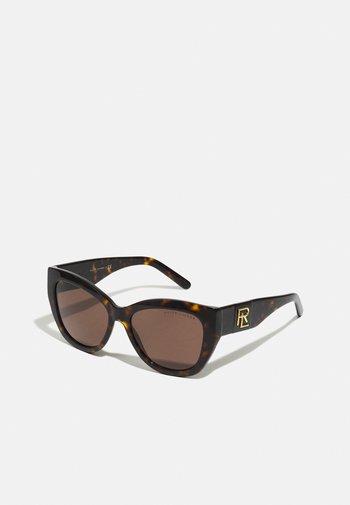 Solbriller - shiny dark havana