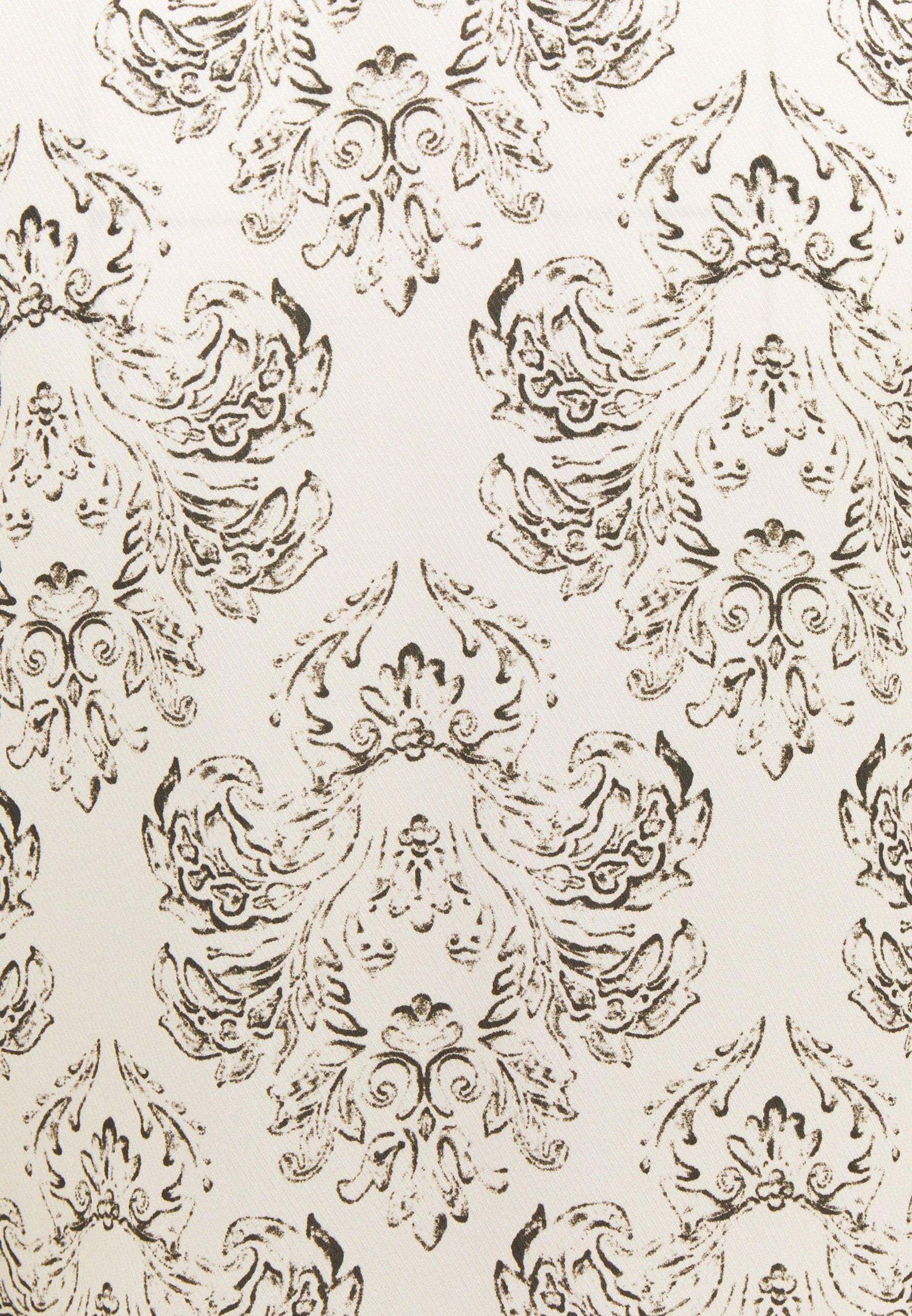 Mother of Pearl VNECK DRESS WITH DRAPE SLEEVE TASSELS Freizeitkleid ivory/beige