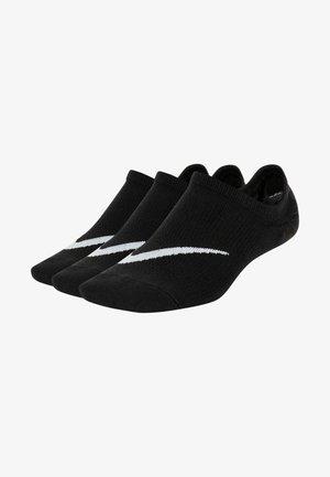 Trainer socks - black/white