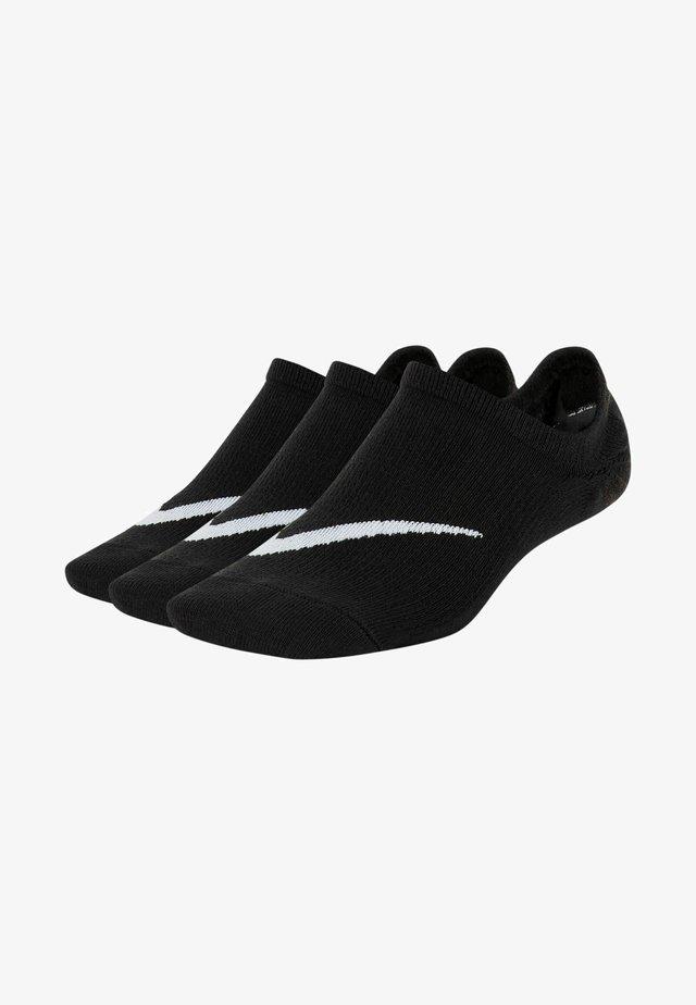 Varrettomat sukat - black/white