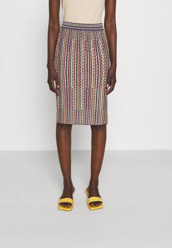 Pencil skirt - multicolor