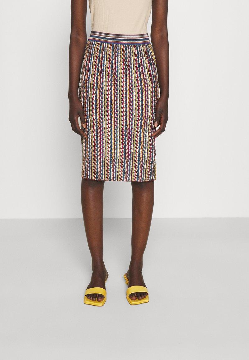 M Missoni - Pouzdrová sukně - multicolor