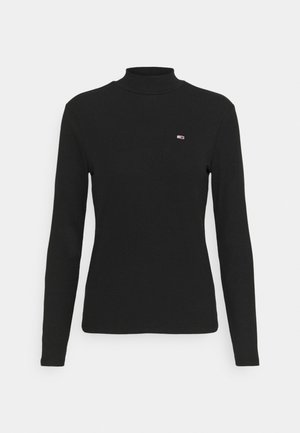 MOCK NECK LONGSLEEVE - Long sleeved top - black