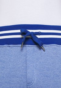Schott - PHIL - Tracksuit bottoms - heather blue - 4