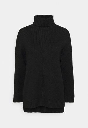 Long line seam detail - Jumper - black
