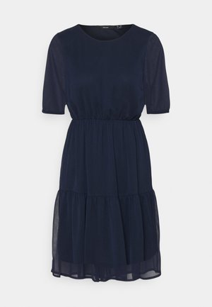 VMKEMILLA DRESS PETITE - Day dress - navy blazer
