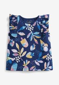 Next - 5 PACK - Print T-shirt - blue - 2