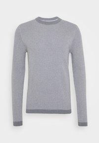 medium grey melange/egret