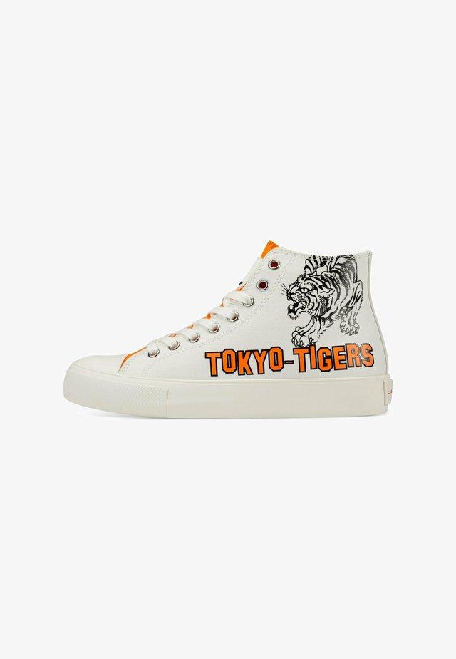 VINTAGE  TOKYO - Sneakers hoog - white