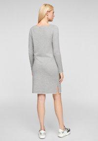 s.Oliver - Jumper dress - grey melange - 2