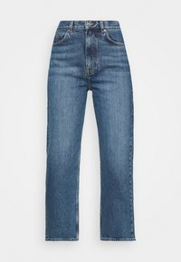 ARKET - Relaxed fit jeans - dark mid blue - 5