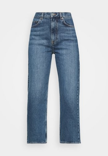 Relaxed fit jeans - dark mid blue