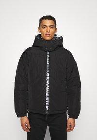 Just Cavalli - SPORTS JACKET - Winter jacket - black - 0