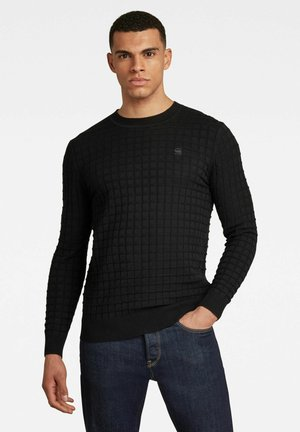 CORE TABLE SWEATER - Pullover - dk black