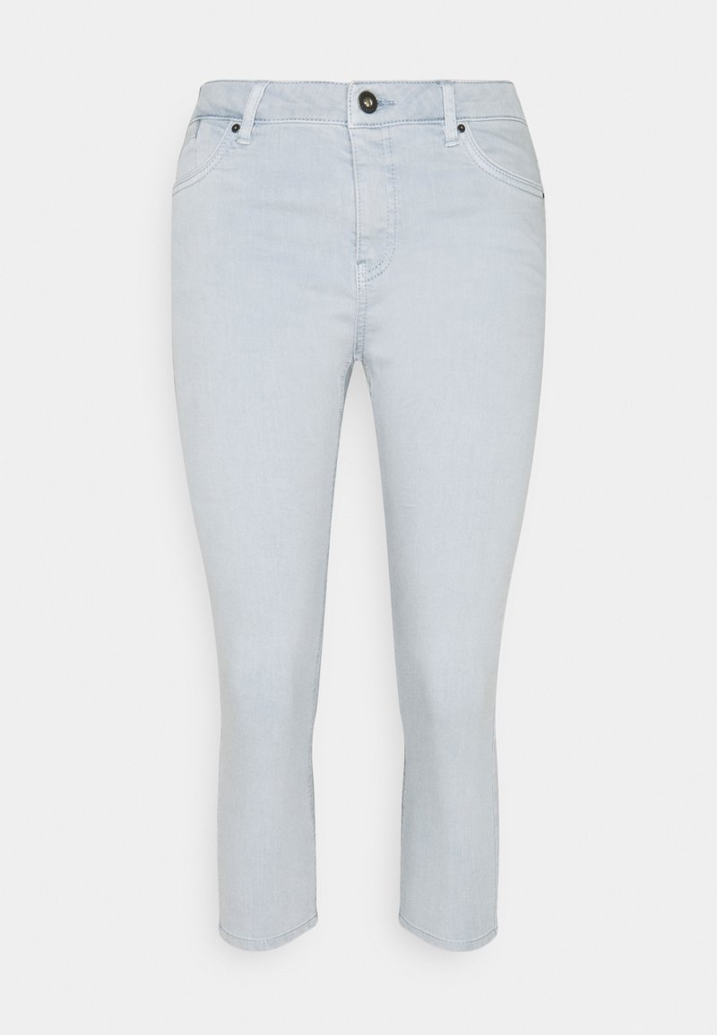 edc by Esprit - CAPRI - Denim shorts - light blue lavender
