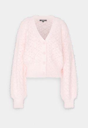 POINTELLE CARDI - Vest - pink