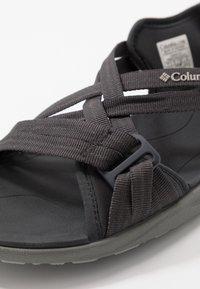 Columbia - Outdoorsandalen - shark/titanium - 5