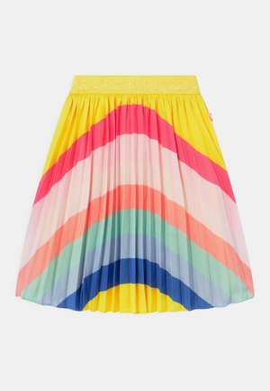 Pleated skirt - lemon