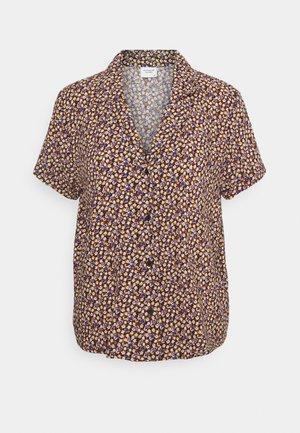 JDYSTARR LIFE SHIRT - Button-down blouse - black