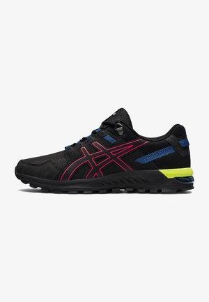 Sneakers laag - black/diva pink