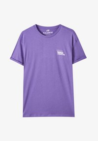 PULL&BEAR - T-shirt basic - purple - 4