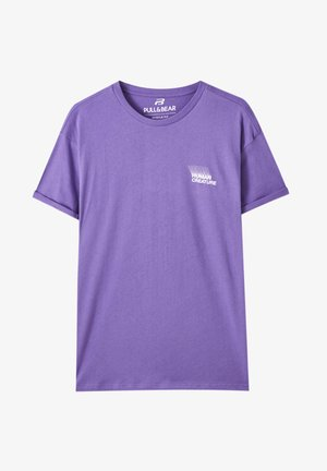 Basic T-shirt - purple
