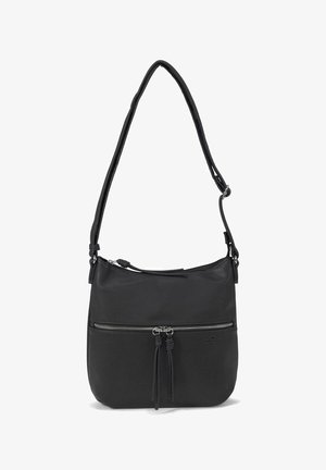 HELINA MIT ANHÄNGERN - Across body bag - schwarz / black