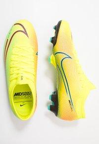 Nike Performance - MERCURIAL VAPOR 13 PRO FG UNISEX - Fotbollsskor fasta dobbar - lemon/black/aurora green - 1