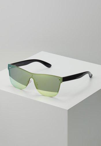 SUNGLASSES - Sunglasses - gold mirror/black