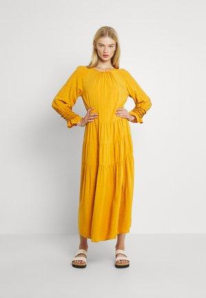 YASINCA DRESS - Maxi dress - yellow