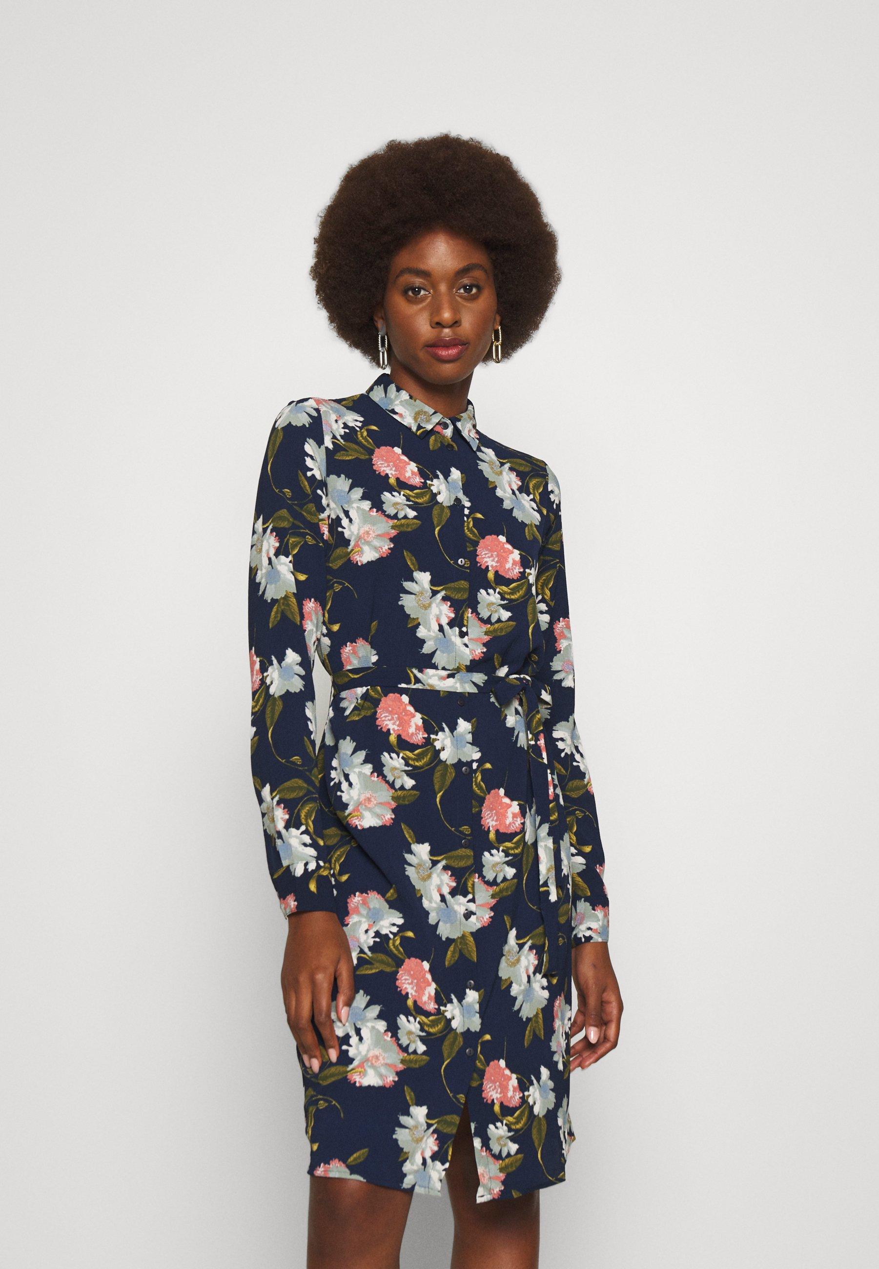 Donna VMSAGA DRESS - Abito a camicia