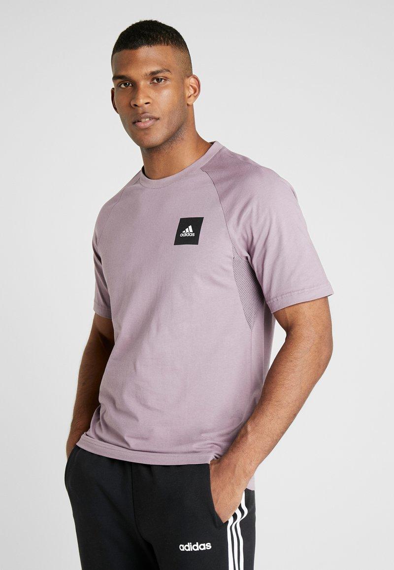 adidas Performance - Print T-shirt - legacy purple