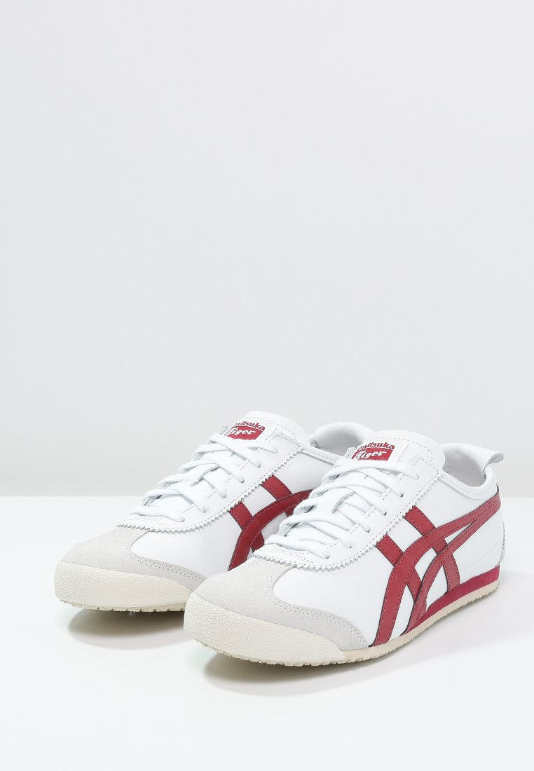 Onitsuka Tiger MEXICO  Sneaker low white/burgundy/weiß