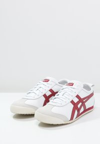 Onitsuka Tiger - MEXICO  - Baskets basses - white/burgundy - 2