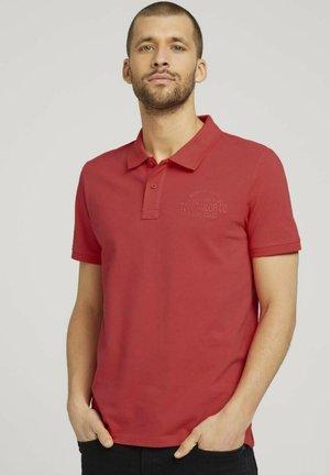 Polo shirt - plain red