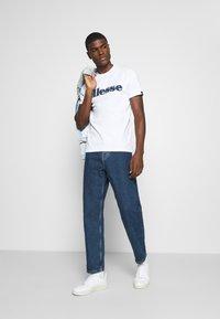 Ellesse - LOCARA - Print T-shirt - white - 1