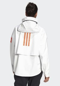 adidas Performance - MYSHELTER URBAN RAIN.RDY OUTDOOR - Waterproof jacket - white - 2
