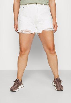 EXTREME RIP - Shorts di jeans - white